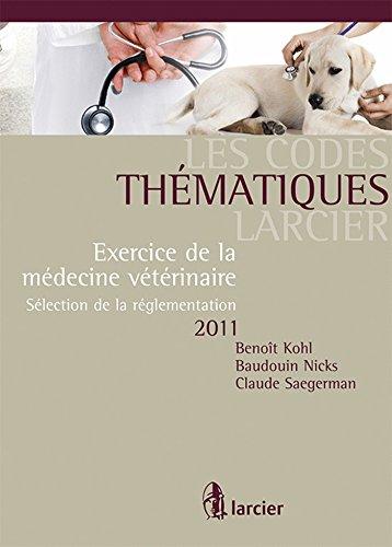 code commente - droit veterinaire 2011