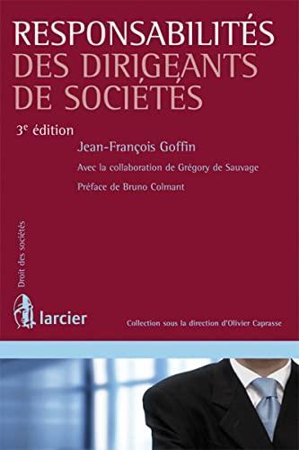 Responsabilités des dirigeants de sociétés: Jean-François Goffin