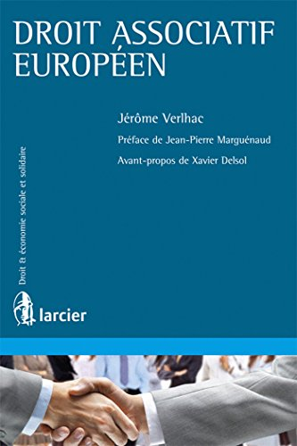 Droit associatif européen: Jerome Verlhac