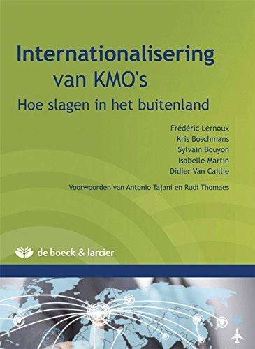 Internationalisering van KMO's: Hoe slagen in het: Boschmans, Kris; Bouyon,