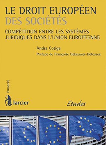Le droit européen des sociétés: Andra Cotiga