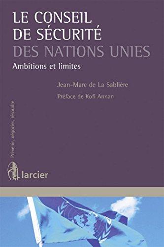 9782804478179: Le Conseil de sécurité des Nations Unies : Ambitions et limites