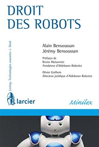 9782804478483: Droit des robots