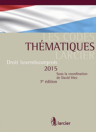 Droit luxembourgeois 2015