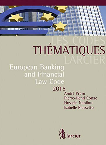 European Banking and Financial Law Code 2015
