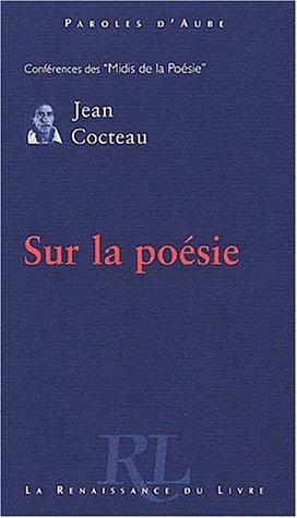 Sur la poésie (9782804604967) by Jean Cocteau