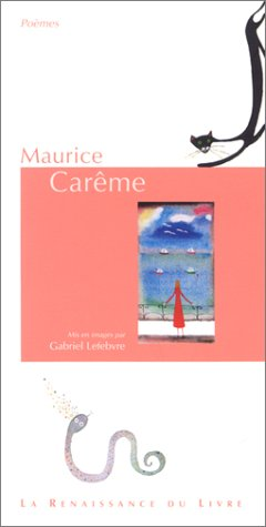 Maurice Carême (9782804606572) by Maurice Carême; Gabriel Lefebvre