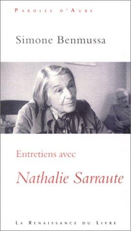 9782804606640: Entretiens avec Nathalie Sarraute