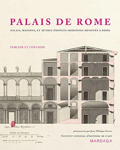 9782804700041: Palais de Rome : Palais, maisons, et autres édifices modernes dessinés à Rome