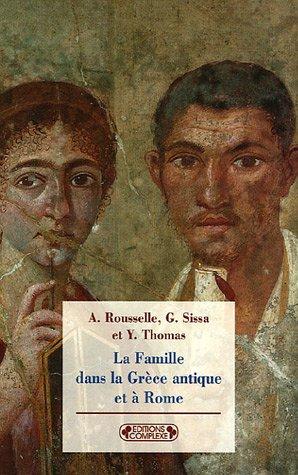 9782804800321: La Famille dans la Grèce antique et à Rome