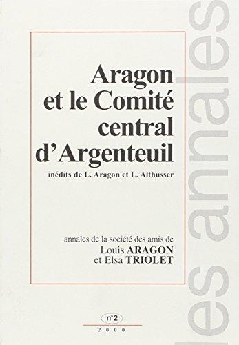 9782805900730: Annales des Amis de Louis Aragon