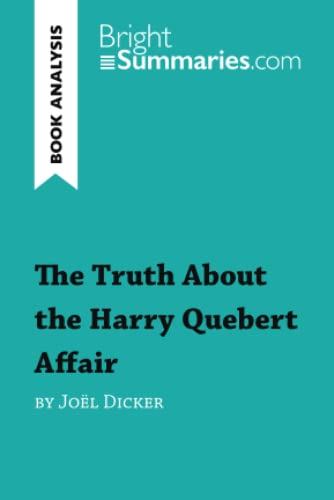 9782806270849: The truth about the Harry Quebert affair (Book Analysis)