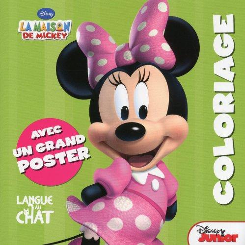 9782806303783: LA MAISON DE MICKEY - COLORIAGE + POSTER (MINNIE)