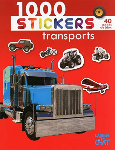 9782806304087: 1000 stickers transports
