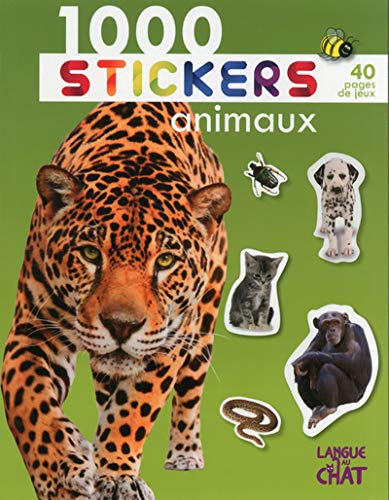 9782806304094: 1000 stickers animaux