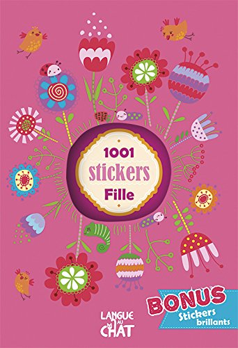 1001 stickers filles: Collectif