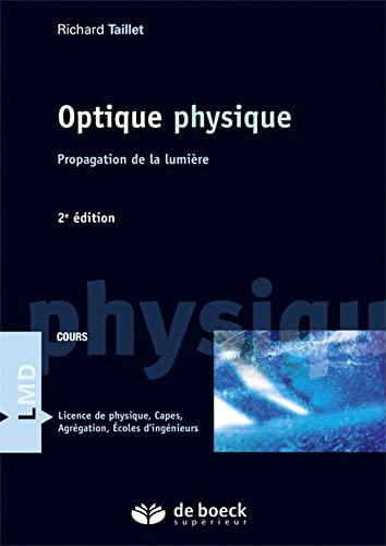 9782807300057: Optique Physique