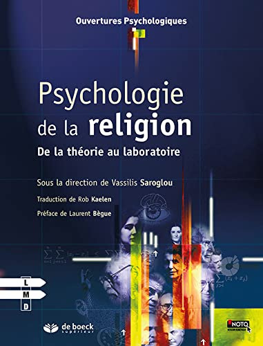 9782807300156: Psychologie de la religion : De la th�orie au laboratoire