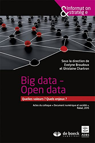 BIG DATA OPEN DATA: BROUDOUX CHARTRON