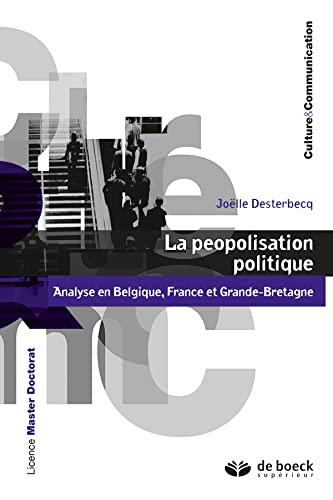 PEOPOLISATION POLITIQUE -LA-: DESTERBECQ 1RE ED 15
