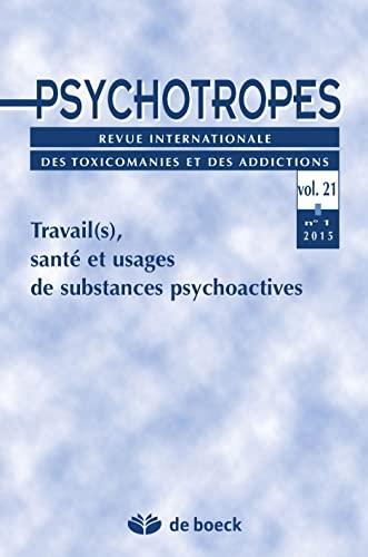9782807301009: Psychotropes 2015/1 N.21
