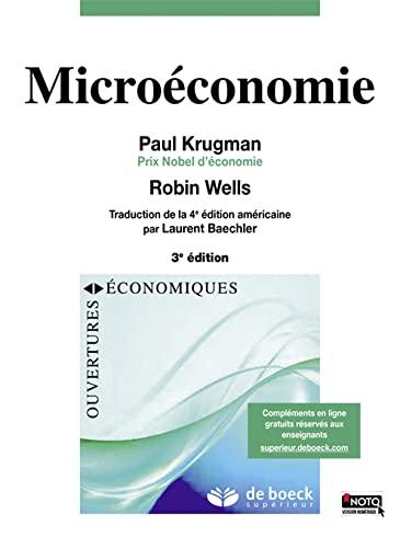 9782807301511: Microeconomie (Ouvertures économiques)
