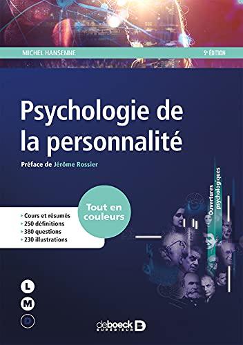 Psychologie de la personnalité: Michel Hansenne