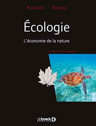 9782807314191: Écologie - L'économie de la nature