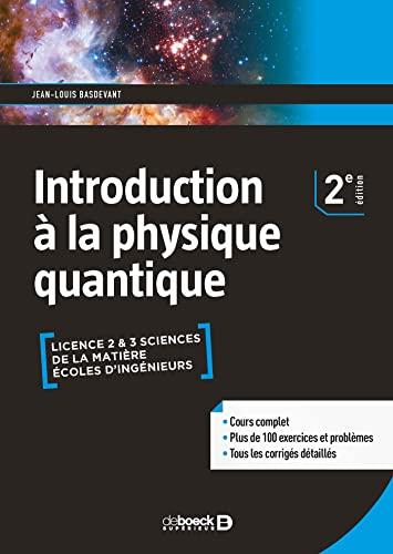 9782807314429: Introduction à la physique quantique (LMD)