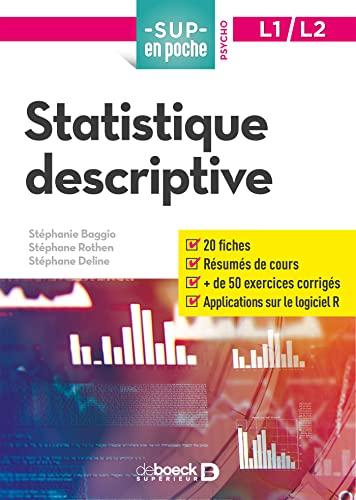 9782807314917: Statistique Descriptive