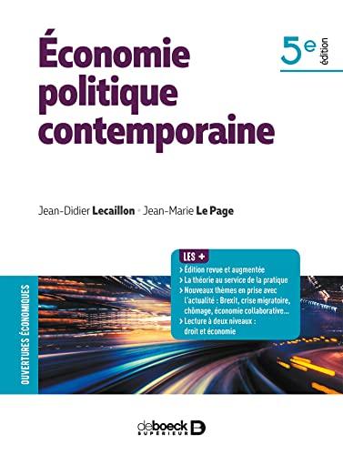 9782807315372: Economie politique contemporaine