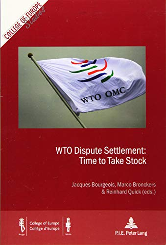 WTO Dispute Settlement: a Check-up: Mary Footer (contributions),