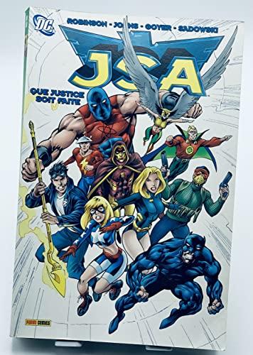 9782809400540: JSA, Tome 1 : Que justice soit faite