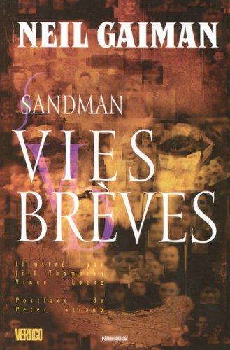 9782809401042: Sandman, Tome 7 : Vies brèves