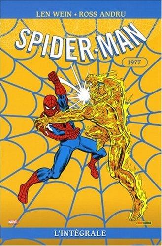 9782809402469: Spider-Man l'Int�grale : 1977