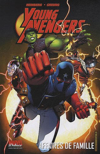 9782809410907: young avengers