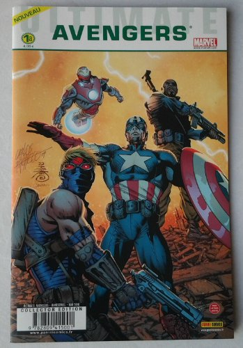 9782809415001: Ultimate avengers 1 cover a