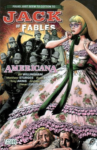 9782809418125: Jack of fables, Tome 4 : Americana