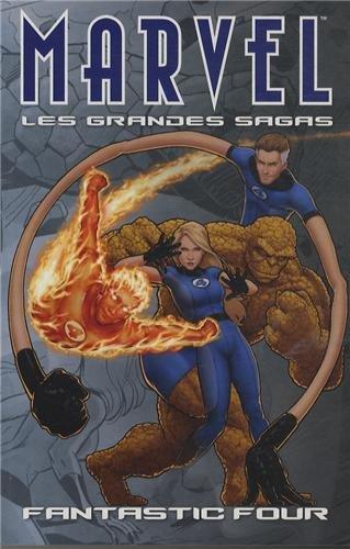 9782809420005: Marvel les Grandes Sagas 10 les Quatre Fantastiques