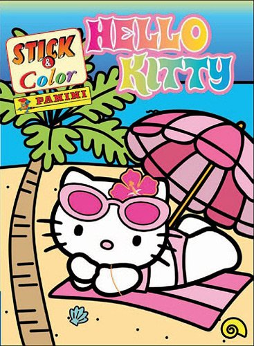 9782809421095: Stick & color Hello Kitty (French Edition)
