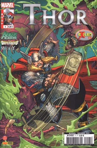 9782809429169: Thor, Tome 5 : Exiled
