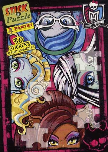 9782809430417: Monster High : 30 stickers repositionnables