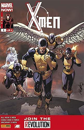 9782809436594: X-Men, Tome 3 : Cover librairie