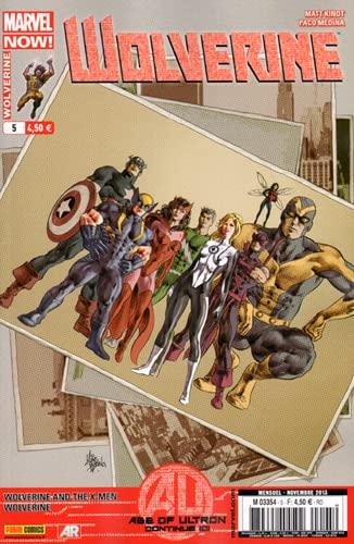 Wolverine 2013 005 Age of Ultron: Kindt/Medina