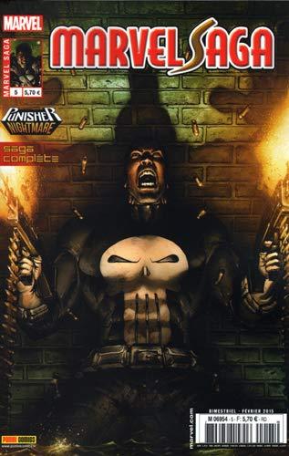 9782809448795: Marvel saga v2 05 : punisher, cauchemar
