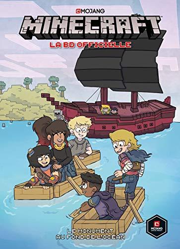 9782809493863: Minecraft la BD officielle T02 : Le monument au fond de l'océan