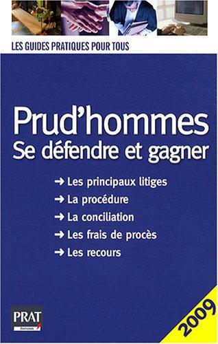 9782809500653: Prud'hommes : Se défendre et gagner