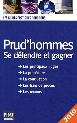 9782809501278: Prud'hommes