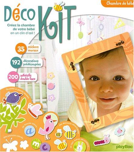 9782809600759: Chambre de bébé : Créez la chambre de votre bébé en un clin d'oeil !