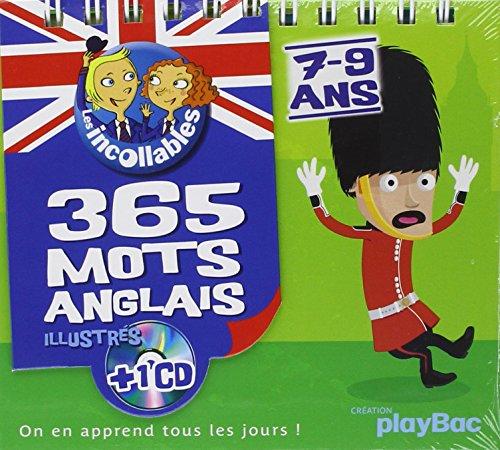 9782809602197: Les Incollables: 365 Mots Anglais + CD (Ce1/Ce2)
